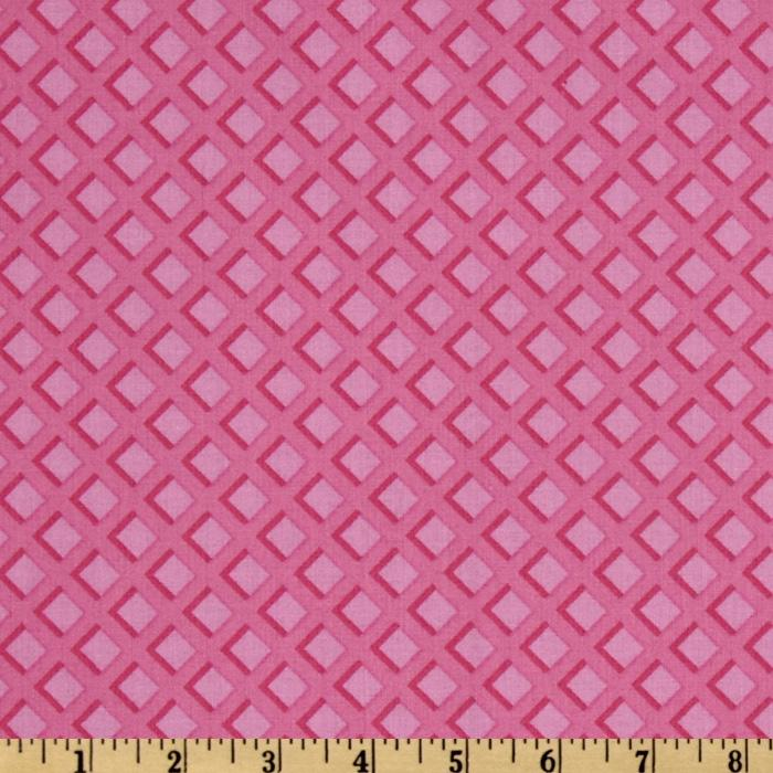 The Sweet Scoop Waffle Texture Pink