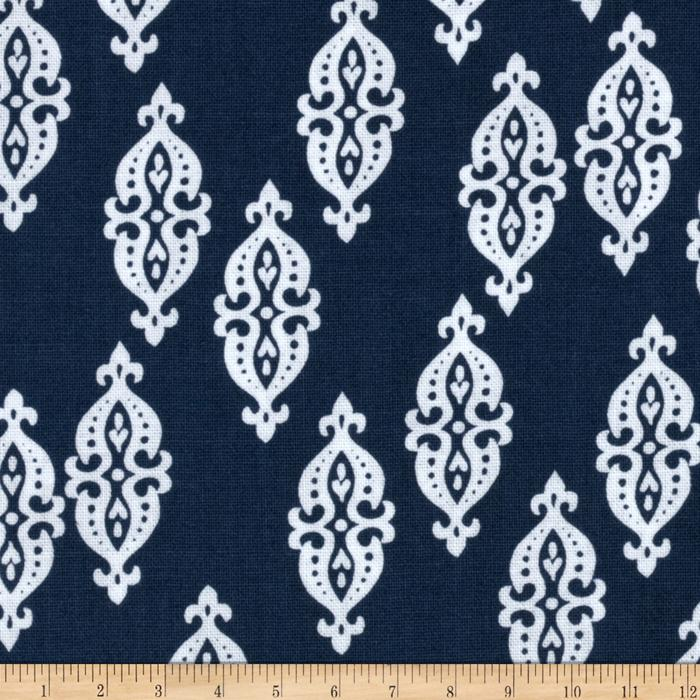 Kallianthi Foulard Ink Blue