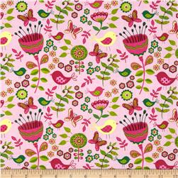 Meadow Melody Small Floral Pink