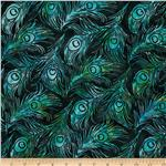 0288548 Bali Batiks Peacock Feathers Barbados