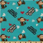 FT-815 Bobby Jack Flannel Bubblegum Love Blue