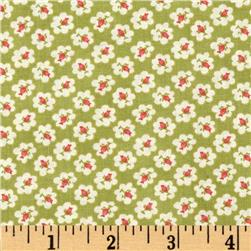 Moda Avalon Seaside Cotton Puffs Pistachio Green