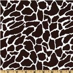 UP-201 Stretch Cotton Sateen Giraffe Brown/White