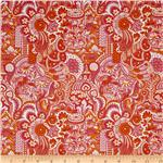 0268786 Chinoiserie Prosperity Orange