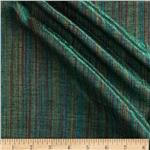 Bejeweled Metallic Shot Cotton Stripes Green/Multi