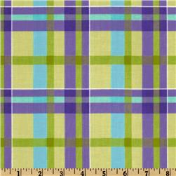 Plaid Green/Purple