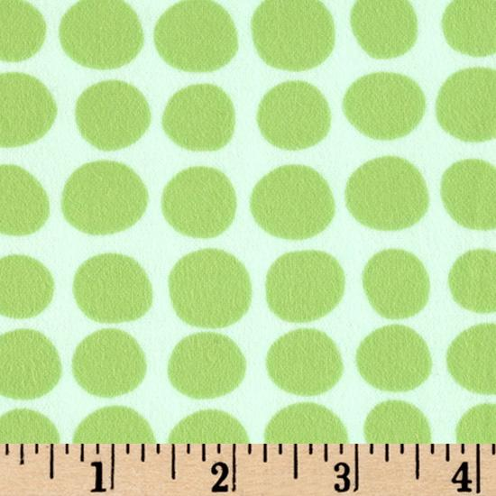Amy Butler Love Flannel Sunspots Mint