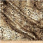 0278561 Satin Charmeuse Jungle Leopard Cream
