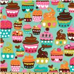 EC-477 Michael Miller Sweet Treats Turquoise