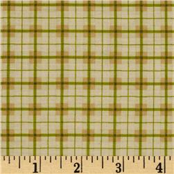 Riley Blake Elk Ridge Plaid Cream