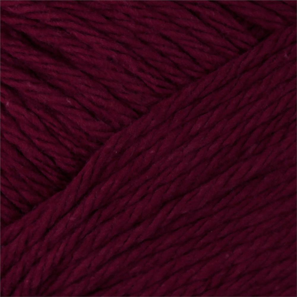 Peaches & Creme Solid Yarn (01430) Burgundy