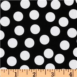 Riley Blake Tuxedo Collection Dot Black