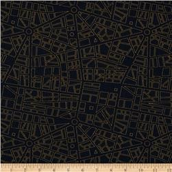 Moda Barcelona City Map Onyx