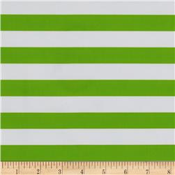 Oil Cloth Stripes Green