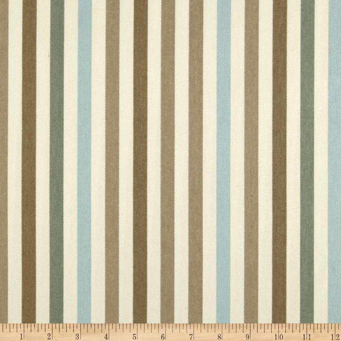 Waverly Line Up Stripe Twill Latte