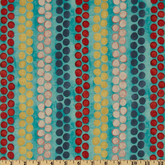 Michael Miller Cosmos Collection Beaded Stripe Aqua