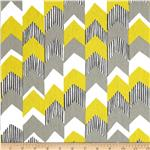 0284463 Richloom Nino Stripe Lemongrass
