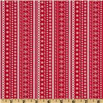 FL-965 Santa's Workshop Stripe Red