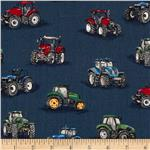 202256 Farm Tractors Royal Blue