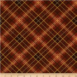Sienna Collection Plaid Rust