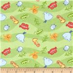 0271480 Alpine Flannel Baby Sea Green