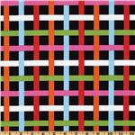 Multidot Square Plaid Multi