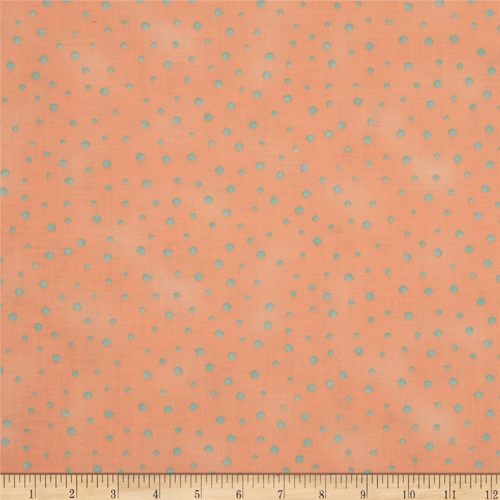 Graphix Scattered Dots Peach