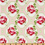 Sugar Hill Rose Trellis Pink
