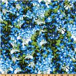 DQ-972 State Flowers Texas Bluebonnets Blue/Green