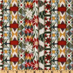 Christmas Quilts Stripe Multi