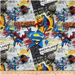 237033 Superman Man Of Steel Daily Planet News Grey