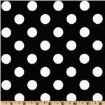 Riley Blake Dots Medium Black