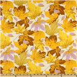Autumn Medley Maples Cream/Gold