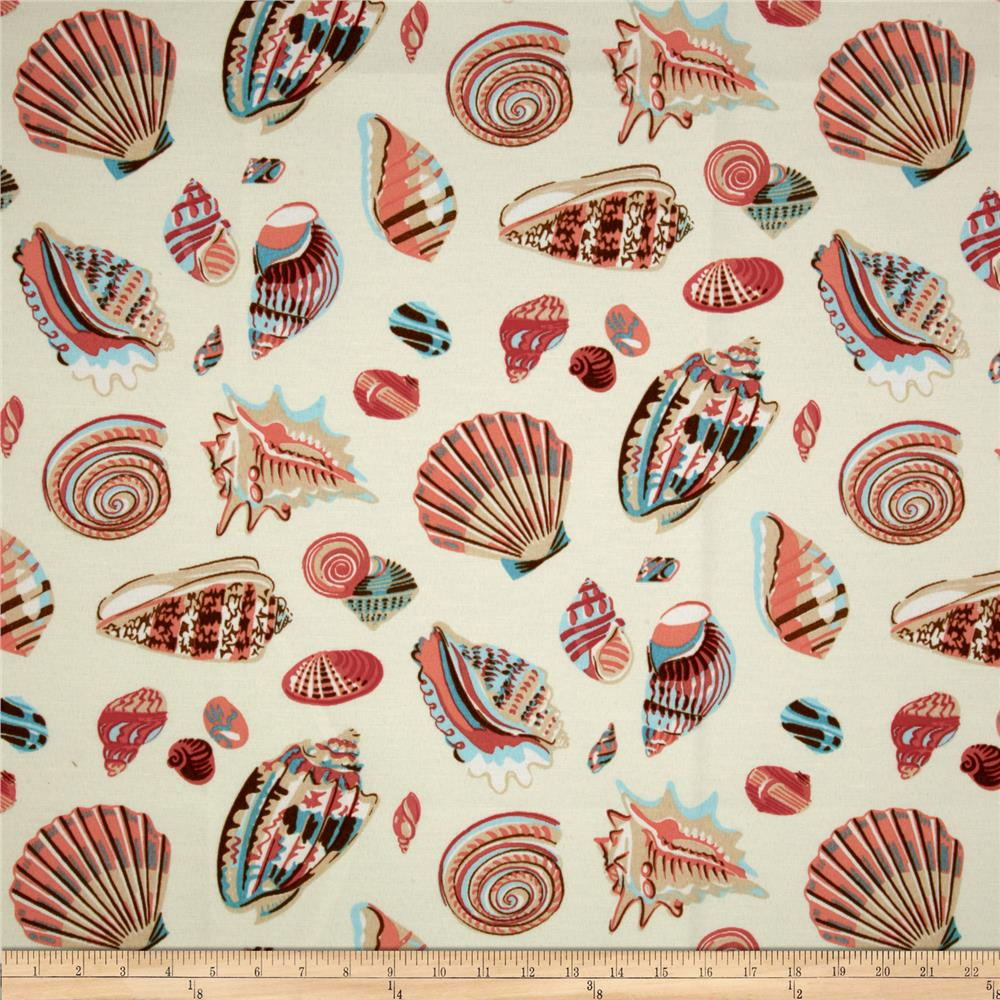 Waverly Sun N Shade Low Tide Seashells Caribbean Coral