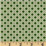 0265244 Mid Century Tile Green