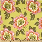 FH-658 Amy Butler Gypsy Caravan Wild Poppy Citrine