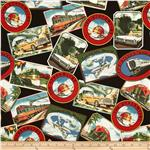 Planes, Trains, Automobiles Travel Post Cards Multi