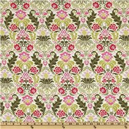 Savannah Floral Wallpaper Sage