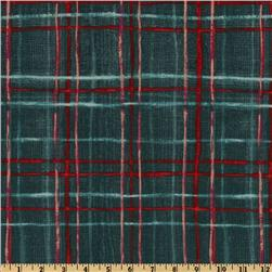 Michael Miller Cosmos Collection Skinny Plaid Blue