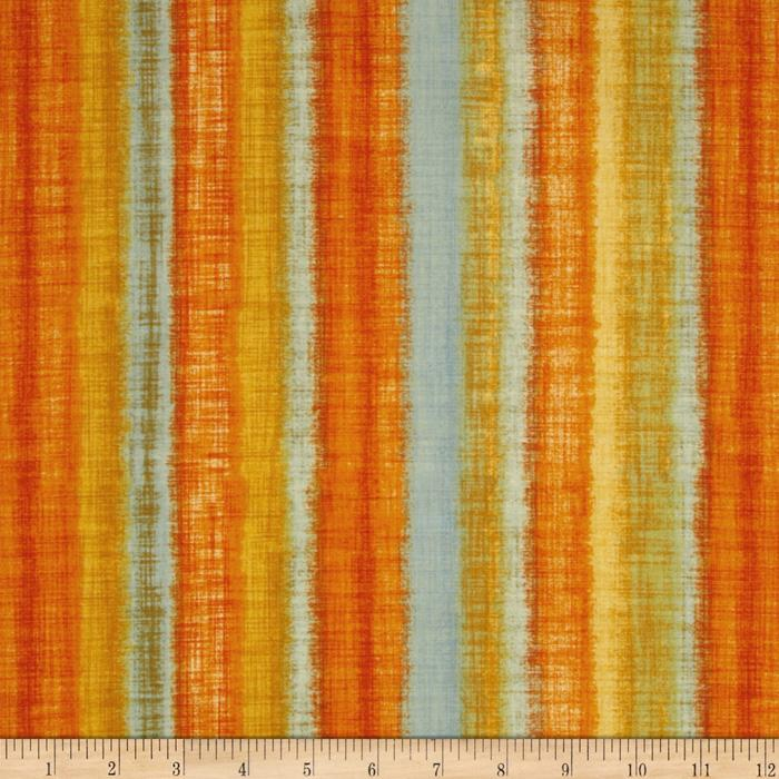 Fusions Ombre Collection Stripe Summer Yellow