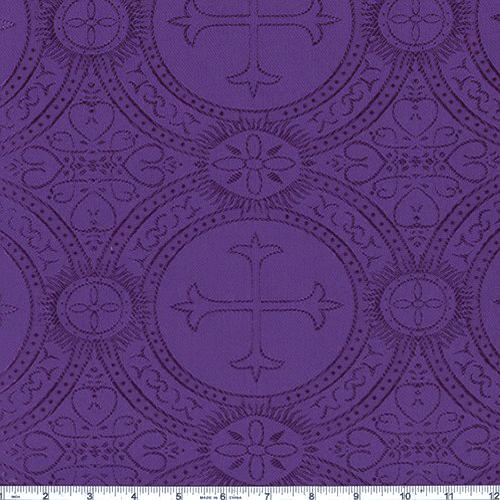 Clergy Brocade Purple