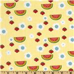 Forest Friends Watermelon Yellow
