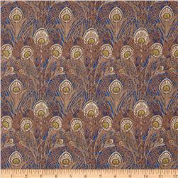 Liberty Of London Tana Lawn Hera Light Brown/Blue