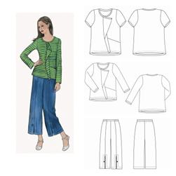 The Sewing Workshop Urban T-Shirt & Pants Pattern