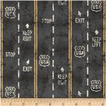 0270457 Planes, Trains, Automobiles Pavement Black