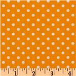 Crazy for Dots & Stripes Dottie Marigold/White
