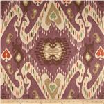 237316 Waverly Enlightened Ikat Mulberry