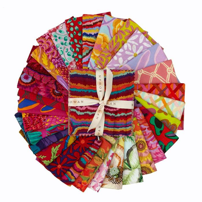 Kaffe Fassett Collective Sampler 2 5&#39;&#39; Charm Pack