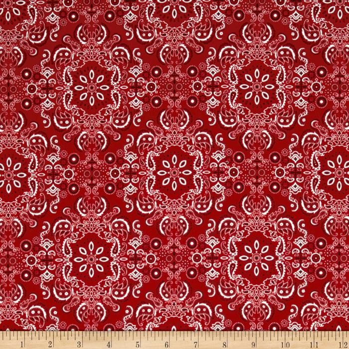 Red River II Bandana Red