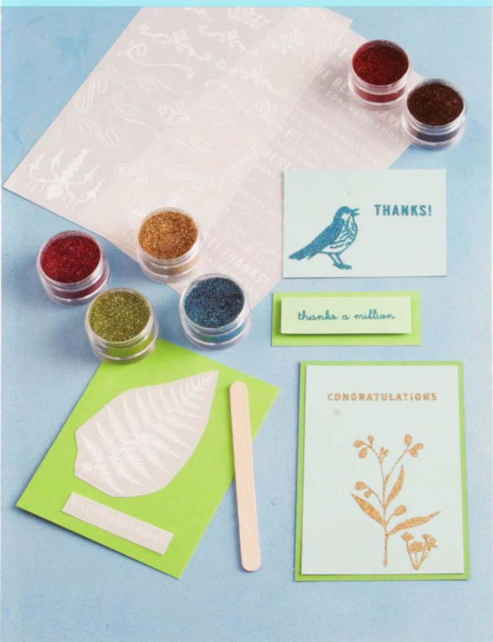 Martha Stewart Crafts Glitter Transfer Kit